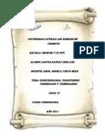Endocrinologia y Criminologia