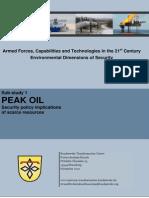 Peak Oil Study
