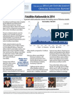 Preliminary 2014 Law Enforcement Officer Fatalities Report