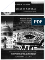 Gen. James Amos inspector general investigation documents