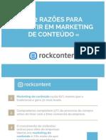 62 Razões Para Investir Em Marketing de Conteúdo (RockContent)