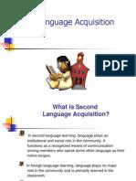 Second Language Acquisition PP