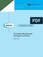 The Muslim Brotherhood and Egypt-Israel Peace