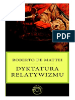Roberto de Mattei-Dyktatura Relatywizmu