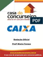 Apostila -CEF RedaçãoOficial -MariaTereza