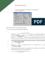 Edidas de Asociación Para Datos Nominales
