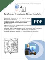 Curso de Instalaciones Electricas Domiciliarias _2014_SEVyT_Aprobado