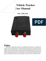 GPS Tracker Manual GPS 318