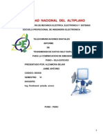 INFORME Modulador y Demodulador ASK