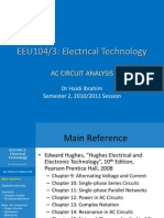 EEU104 01 One Phase AC Circuit