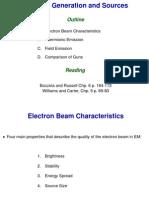 SEM ElectronSources