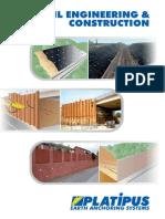 Platipus Civil Engineering & Construction Brochure (May 2014)