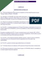 Reglamento de Admisión de La UNASAM