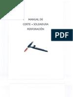 Manual de Corte, Soldadura Y Perforacion