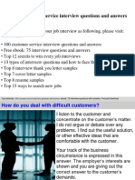 customerserviceinterviewquestionsandanswers-121225093815-phpapp01