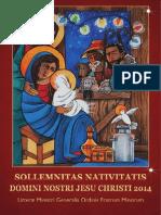 Carta Del Ministro General Franciscano Por La Navidad 2014