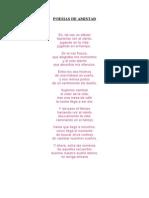 Poesias de Amistad