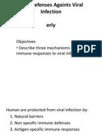 Host Defenses Againts Viral Infection.blok 2.2 2012(4)