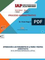 1INTRODUCCIÓN ALPROCESO ADMINISTRATIVO. Introducción Alproceso Administrativo
