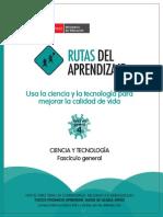 rutas del aprendizaje Fasciculo general de Ciencia y Tecnologia.pdf