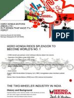 Hero Honda Motors (India) Ltd