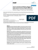 EPI.2007.Owusu-Agyei.malariaJournal.assessing Malaria Control in the Kassena-Nankana District of Northern Ghana Through Repeated Surveys Using the RBM Tools