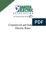 Dakota Electric Industrial & Commercial Rates
