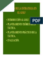2-Análisis de La Estrategia en Golf