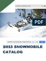 2015 Snowmobie Catalog  (SINERA)