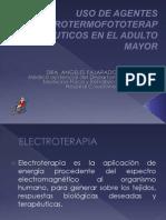 Aplicación de Electroterapia en El Adulto Mayor
