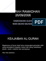 TAZKIRAH RAMADHAN26sept2008