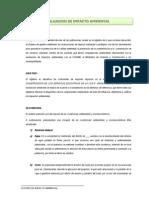 Estudio de Impacto Ambiental de Instituto