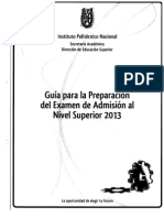 Guia Ipn 2013