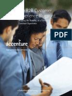 Accenture B2B Customer Experience Blueprint