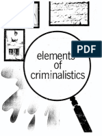 Elements of Criminalistics