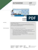 ReleaseNotes PCM