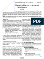 Philosophy of Creating Macros in Accumark Cad System