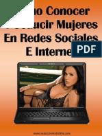 Como Conocer y Seducir a Mujeres en Redes Sociales e Internet