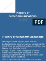 01. History of telecommunications-2013-1.ppt
