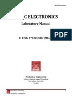 Lab Manual_Basic Electronics