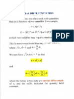 Necessary Maths for thermal physics