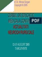Glioame cerebrale recurente