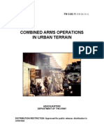 Army - fm3 06x11 - Combined Arms Operations In Urban Terrain
