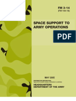 Army - FM3 14 - Space Support to Army Operations