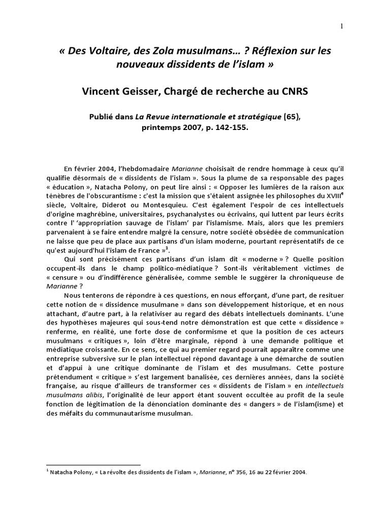 Geiss Er | Voltaire | Juifs