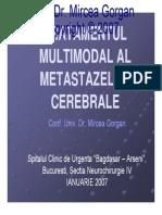 Tratamentul multimodal al metastazelor cerebrale
