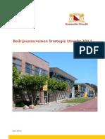 Gemeente Utrecht Bedrijventerreinenstrategie 2012