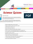 General Science Quiz