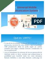 UMTS (Universal Mobile Telecommunication System) Corregidoo