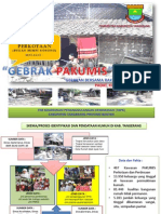 Gebrak Pakumis (Gerakan Bersama Rakyat Atasi Kawsan Padat Kumuh dan Miskin) Kabupaten Tangerang